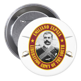 Zapata 7.5 Cm Round Badge