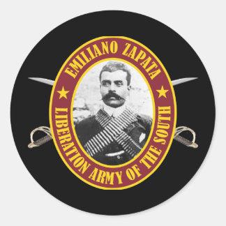 Zapata Round Sticker