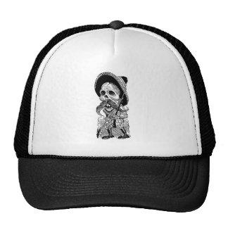 Zapatista Calavera c early 1900 s Mexico Mesh Hats
