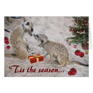 Zaphod and Monkulus Season's Greetings - Card