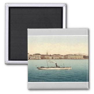 Zara, from the sea, Dalmatia, Austro-Hungary rare Magnet