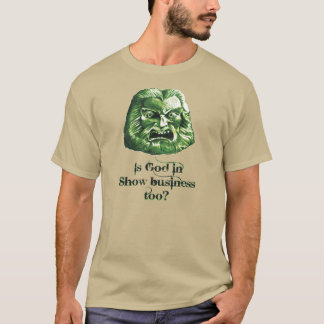 Zardoz: 'Is God in show business too?' T-Shirt