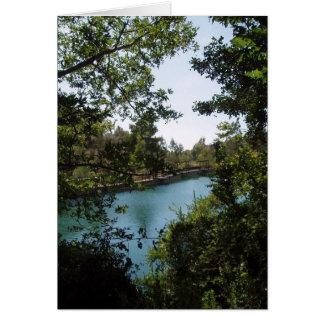 Zaros Lake Card