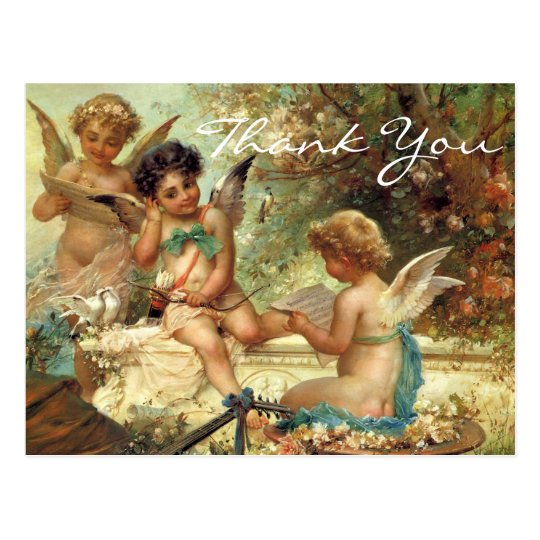 Zatzka's 3 Angels Postcard