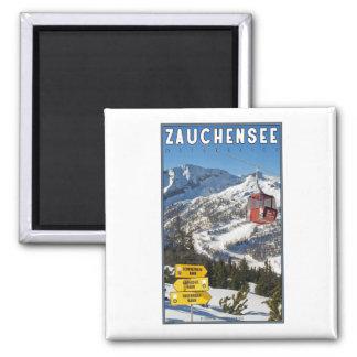 Zauchensee Ski Resort Magnet