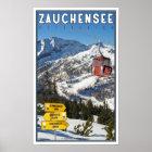 Zauchensee Ski Resort Poster