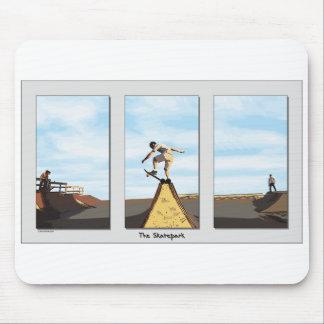 ZAZ112 Skatepark Triptych Mousepads