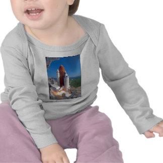 ZAZ217 STS58 Columbia Launch T-shirts