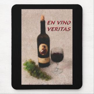 ZAZ417 En Vino Veritas Mouse Pad