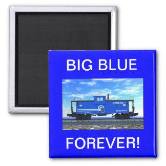 ZAZ420 BIG BLUE FOREVER! MAGNET