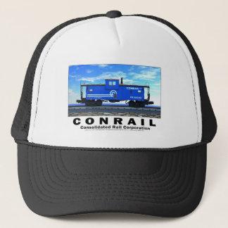 ZAZ462 CONRAIL CABOOSE POSTER TRUCKER HAT
