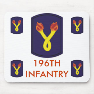 zaz-196TH INFANTRY Mouse Pad