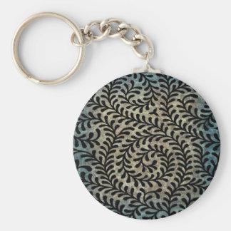 Zaz 1 Small Round Basic Button Keychain