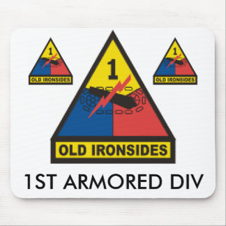 zaz-1st ARMORED DIV Mouse Pad