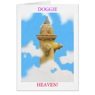 zaz 3, DOGGIE, HEAVEN! Greeting Card