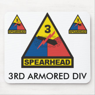 zaz-3RD ARMORED DIV Mouse Pad