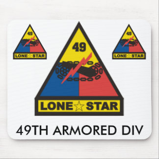 zaz-49TH ARMORED DIV Mouse Pad
