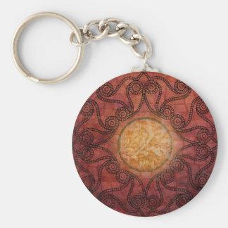 Zaz 4 Small Round Basic Keychain