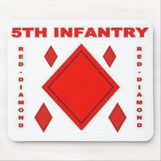 zaz-5th INFANTRY Mouse Pad