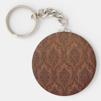 Zaz 6 Round Button Keychain