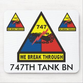 zaz-747TH TANK BN Mouse Pad
