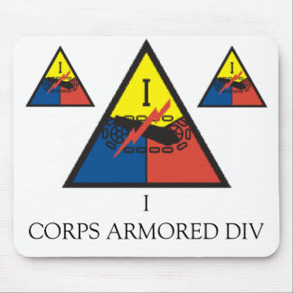 zaz-I CORPS ARMORED DIV Mouse Pad