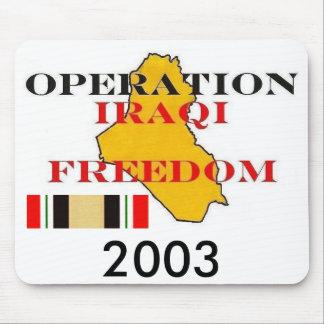 zaz- IRAQI-FREEDOM Mouse Pad