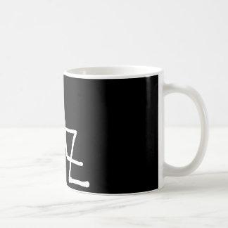 zaz basic white mug