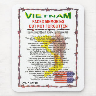 zazv- VIETNAM /POEM Mouse Pad
