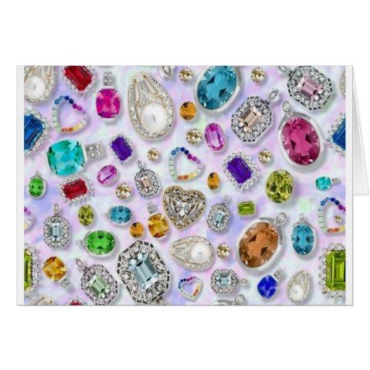 Zazziest Jewels Card