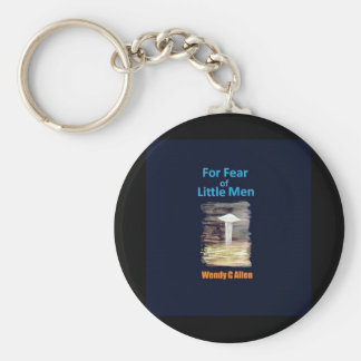 zazzle 2 VISION-D8 painting book front cover title Basic Round Button Key Ring