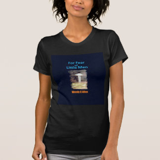 zazzle 2 VISION-D8 painting book front cover title Tee Shirt