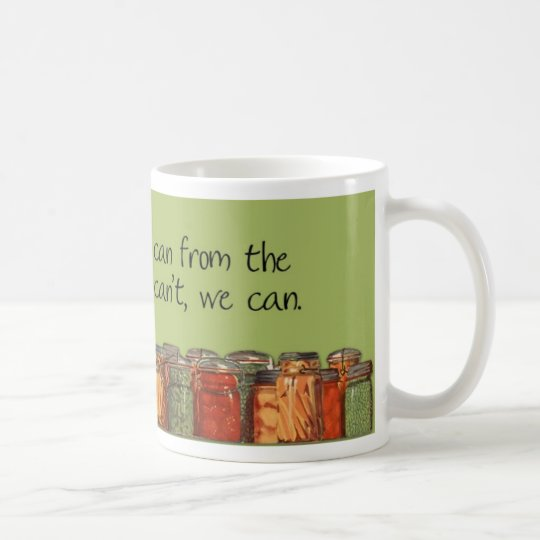 Zazzle Can Green Coffee Mug