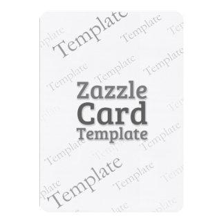 Zazzle Card Custom Template Linen Bright Invite