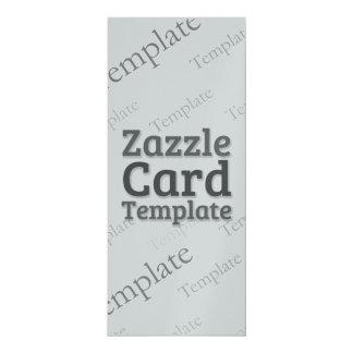 Zazzle Card Custom Template Metallic Invitation