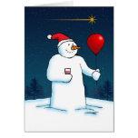 Zazzle Christmas Star Card