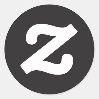Zazzle CircleZ Classic Round Sticker