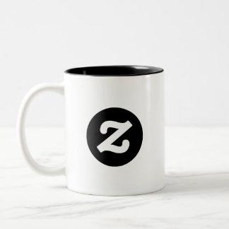 Zazzle CircleZ Two-Tone Mug