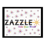Zazzle Colour Your World Post Card