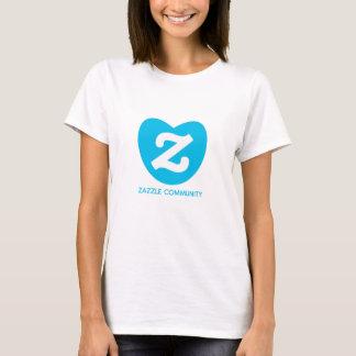 zazzle community t shirt woman