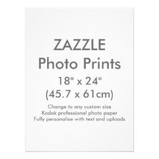 "Zazzle Custom 18"" x 24"" Photo Print Template"