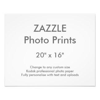 """Zazzle Custom 20"""" x 16"""" Photo Print 50 x 40 cm"""