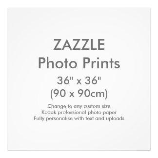 "Zazzle Custom 36"" x 36"" Photo Print Template"