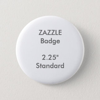 "ZAZZLE Custom Printed 2.25"" Standard Round Badge"