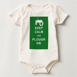 zazzle keep calm plough.jpg baby bodysuit