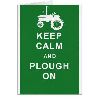 zazzle keep calm plough.jpg cards