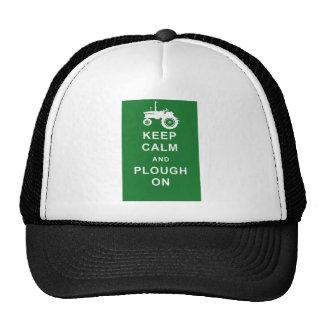zazzle keep calm plough jpg trucker hats