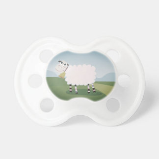 Zazzle kids pacifier with Sheep