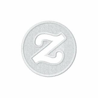 Zazzle logo - 2 CircleZ Embroidered Hooded Sweatshirt