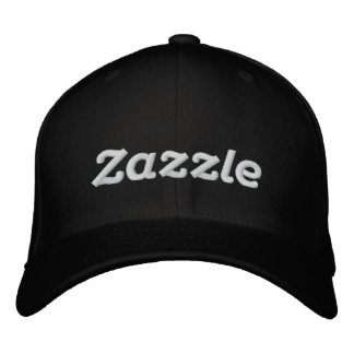 "Zazzle Logo 4"" Embroidered Hat"